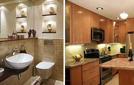 Focus on Kitchens and Bathrooms to Maximize ROI