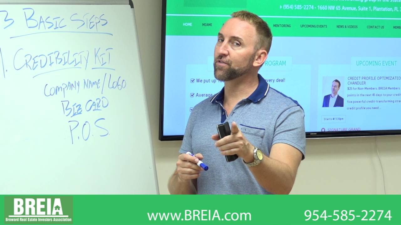 Get You Moving Mondays – Having trouble getting started in real estate investing? Ryan Kuhlman of BREIA teaches the three basic steps in getting started flipping houses.